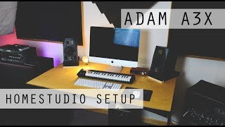 Professional Sound at Home: Adam A3X + Artist Sub 7