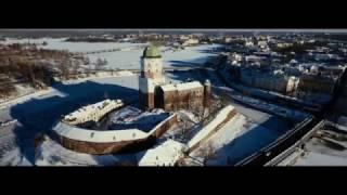 Средневековый замок в Выборге. Видео с дрона. DJI Phantom 4(Единственный на Северо-Западе России средневековый замок и часовая башня в Выборге. Видео с дрона., 2017-02-10T11:37:22.000Z)