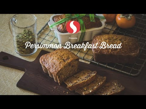 Persimmon Spiced Breakfast Bread | Holiday Recipes | Safeway