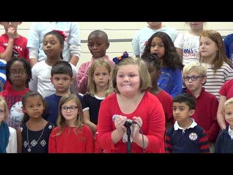 Langston Road Elementary School Veterans program 2018   1