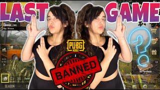 LAST PUBG GAME BEFORE BAN 😱| Chinki Minki | TWINS