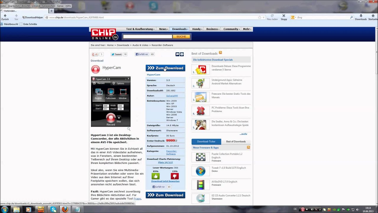 Vista download testversion.