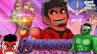 GTA 5 Avengers EndGame Funny Moments (I AM IRON MAN!)
