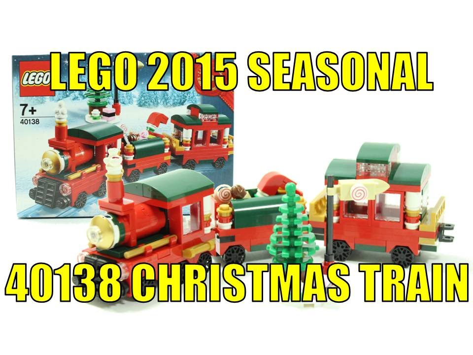 LEGO 40138 CHRISTMAS TRAIN UNBOXING & REVIEW - YouTube