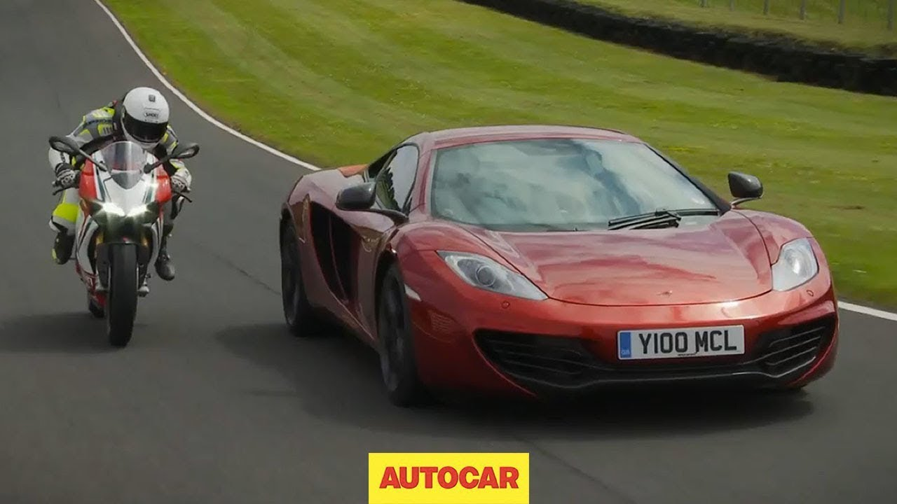Mclaren Vs Ducati Panigale S Ultimate Supercar Vs