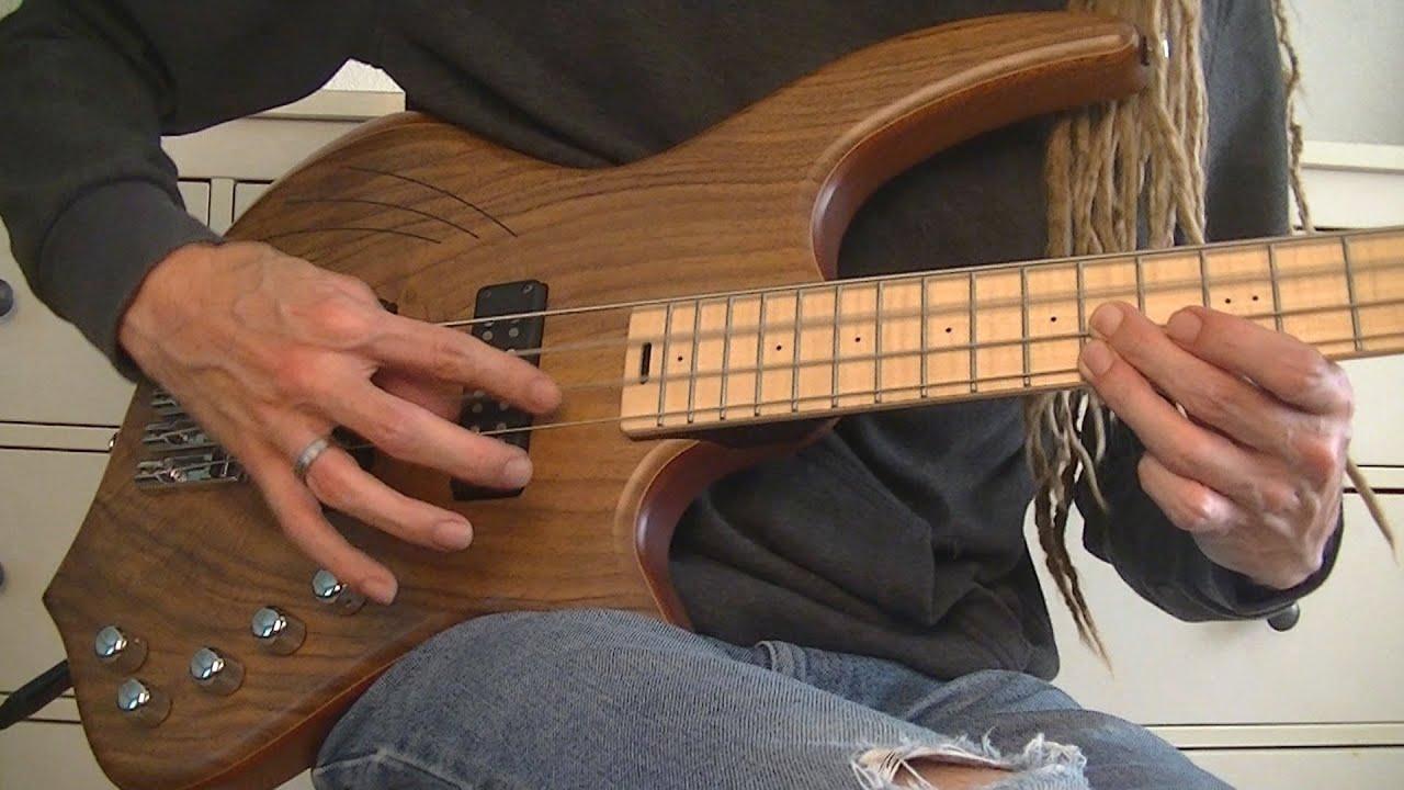 Surrealist Bass Solo with Artificial Harmonics