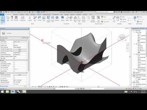 Import From Rhino To Revit Generic Model Youtube