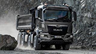 All New 2021 MAN TGS Dump truck - Test Drive