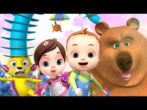Down By The Bay Nursery Rhyme | + More Nursery Rhymes & Kindergarten Cartoon For Kids