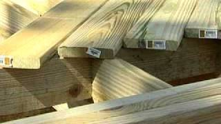 Dailymotion - Building A Deck Part 4  Laying A Deck - The Home Depot - A College Video.wmv