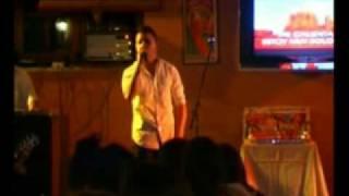 """concurso karaoke,digale """"david bisbal"""""""