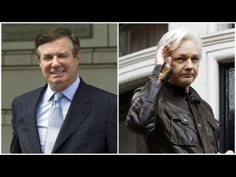 Julian Assange-Paul Manafort Meeting Sounds Bogus, From YouTubeVideos