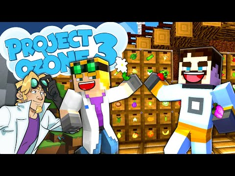 Minecraft Project Ozone 3 - WALL OF PRODUCE #77