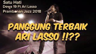 Download lagu Dewa 19 Feat Ari Lasso Satu Hati !!?? #prambananjazz2018