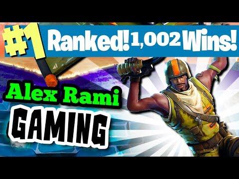 #1 WORLD RANKED - 1000 WINS! - SPONSOR GOAL 501/600 - FORTNITE BATTLE ROYALE LIVE STREAM!