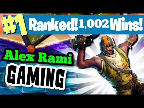 #1 WORLD RANKED - 1000 WINS! - SPONSOR GOAL 501/600 - FORTNITE BATTLE ROYALE LIVE STREAM! thumbnail
