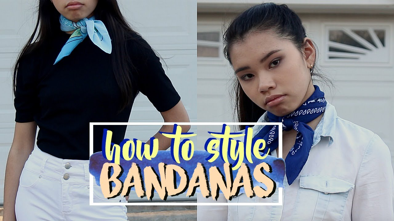 How To Style Bandanas | 3 Outfit Ideas