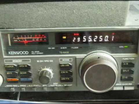 55.250 MHz warbling video carrier from the Dominican Republic
