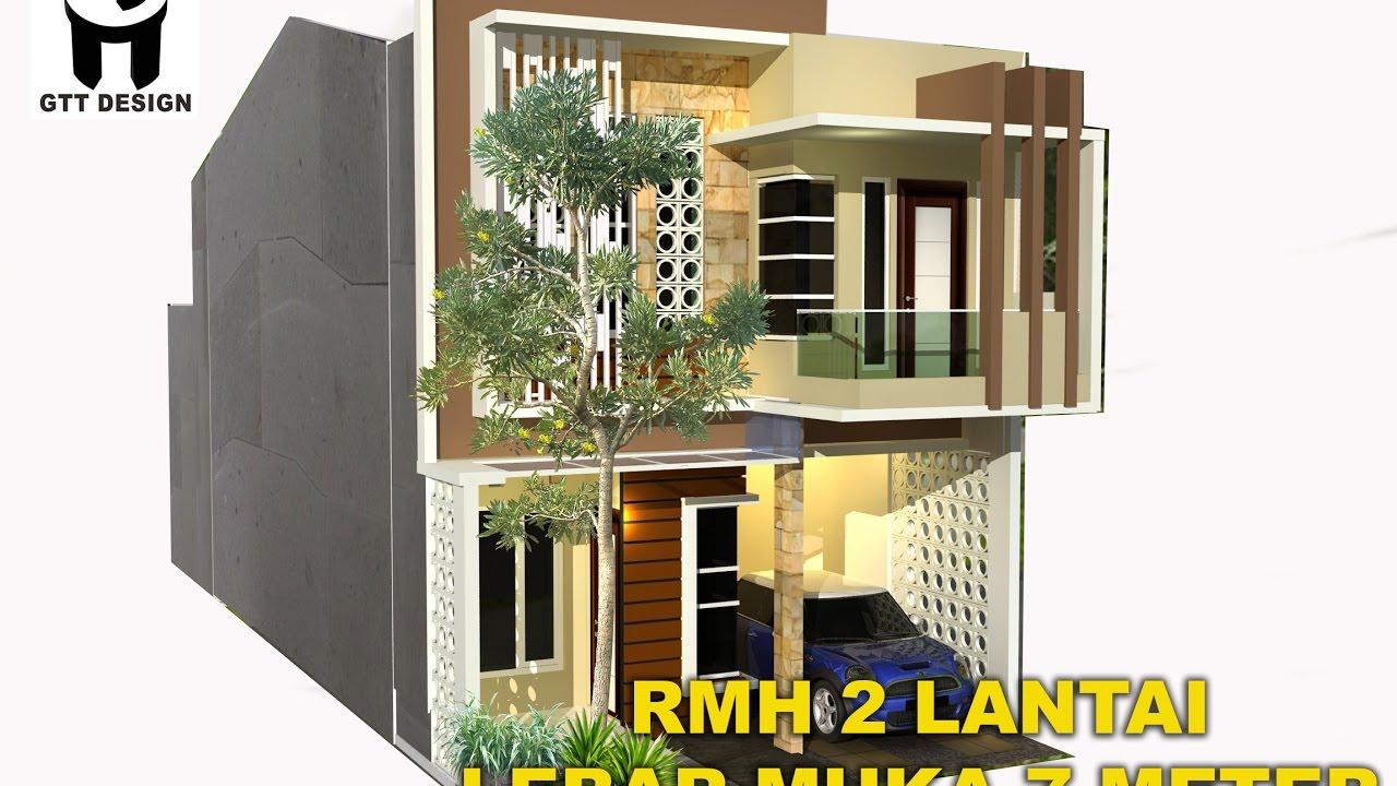 66 Desain Rumah Minimalis Lebar 7 Meter Desain Rumah Minimalis Terbaru