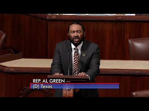 Rep. Al Green -- Impeachment Vote will take place the week of Dec. 4th