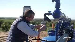 מסנן ™SandStorm    תחזוקה בסיום עונת ההשקיה   נטפים