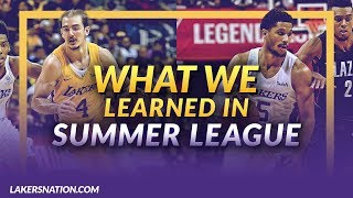 Lakers News Feed: Summer League Take Aways