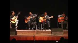 Félix Casaverde, Ricardo Villanueva, Pepe Torres y Riber Or...