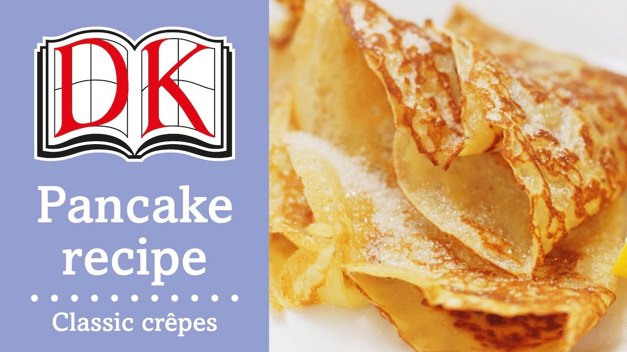 Pancake Recipe How To Make Crepes Youtube,10 Year Wedding Anniversary Cake