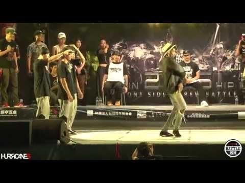 Team Japan VS Team English [ Final ] -  HURRICANES BATTLE ISM 2015 TAIWAN & POPPIN CREW BATTLE