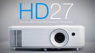 hd27 home projector for lights on viewing
