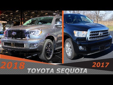 Новая Тойота Секвоя видео тест драйв. Анонс новой Toyota Sequoia TRD Sport из США и Канады.