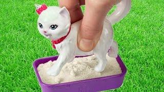 Potty Trainin` Blissa  Barbie Fashion Doll and Pet Playset / Barbie z Kotkiem Blissą - BDH76