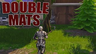 *WORKING* Double Materials Glitch In Fortnite | Get Double Materials From Trees