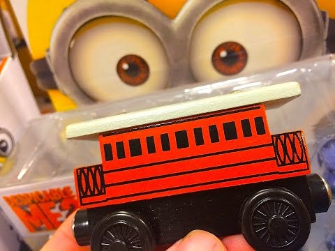 Thomas & Friends HENRIETTA Wooden Railway Toy Train Review By Mattel Fisher Price Character Friday