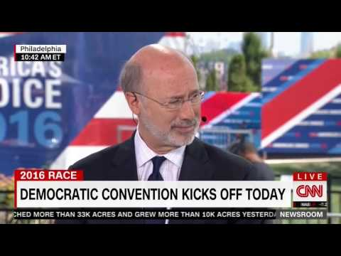 """Tom Wolf Called Out By CNN for Calling DWS a """"Good Leader"""""""