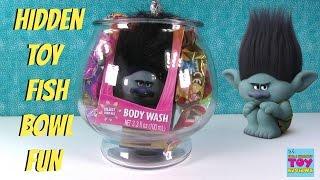 Trolls Cars 3 Mashems Disney Blind Bag Toy Fish Bowl Fun Opening | PSToyReviews