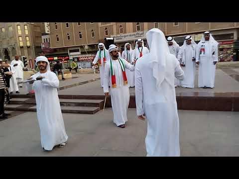 best arabic traditional dance at dubai museum