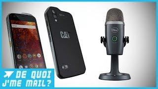 Les coups de coeur de Victor : smartphone durci, micros pour youtubeurs  DQJMM (2/2)