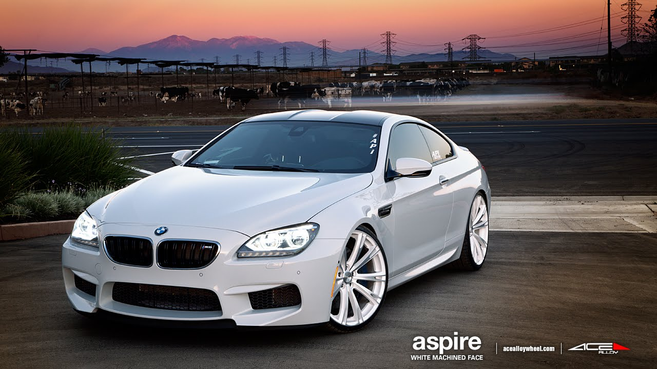 Bmw M6 On 22 Quot Ace Aspire Wheels Rims Youtube