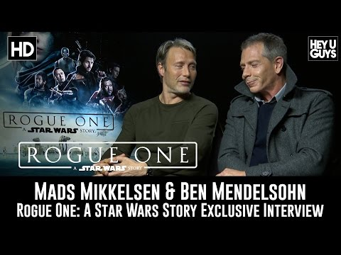 Mads Mikkelsen & Ben Mendelsohn Exclusive Interview - Rogue One: A Star Wars Story