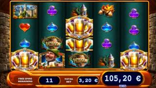 BIER HAUS™ G ™ Deluxe online casino slot game from WILLIAMS INTERACTIVE™ MP4 Video   Full HD 1080]