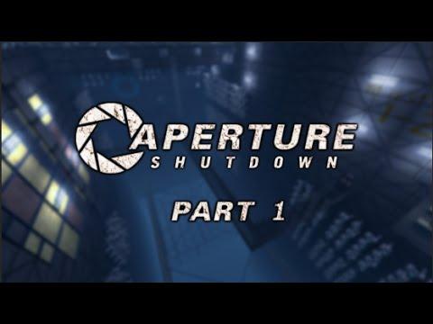 Portal 2: Workshop Maps: Aperture Shutdown Part 1