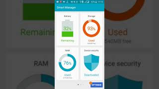 How to use samsung smart manager application for ram device