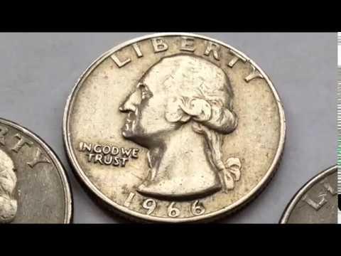 4000$$$ RARE 1966 ERROR QUARTERS WORTH MONEY
