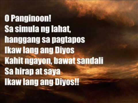 You Are God Alone [A Tagalog Rendition]