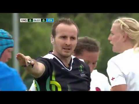 England vs. Italy, WRWC 2017 (August 13, 2017)