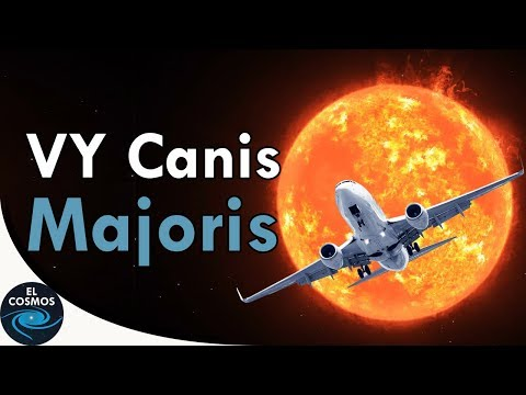 VY Canis Majoris, The Greatest Star in the Universe? - The cosmos