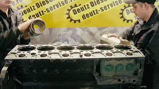 Капитальный ремонт двигателя Дойц (Deutz) BF 6M 1013