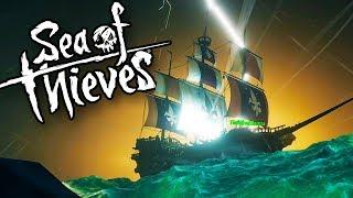 EPIC Pirate Ship Battles, SHARK Attacks & Treasure HUNTS! (Sea of Thieves Crossplay Gameplay)