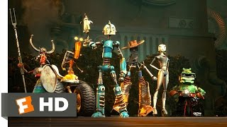 Video Robots (2/3) Movie CLIP - Charge! (2005) HD download MP3, 3GP, MP4, WEBM, AVI, FLV Agustus 2018